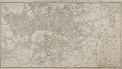 Map of London, and its environs. 1816